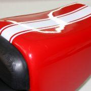 Tappezzeria auto e moto - dettaglio lavoro tapezzeria moto