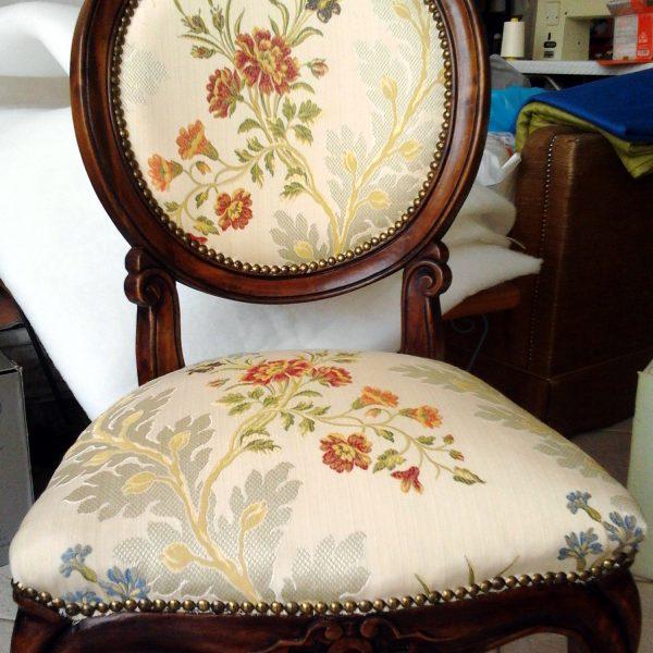 Tappezzeria sedie e sedute