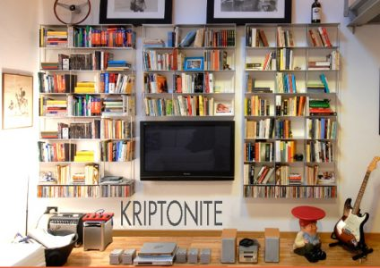 arredi per interni - librerie e scafali kriptonite