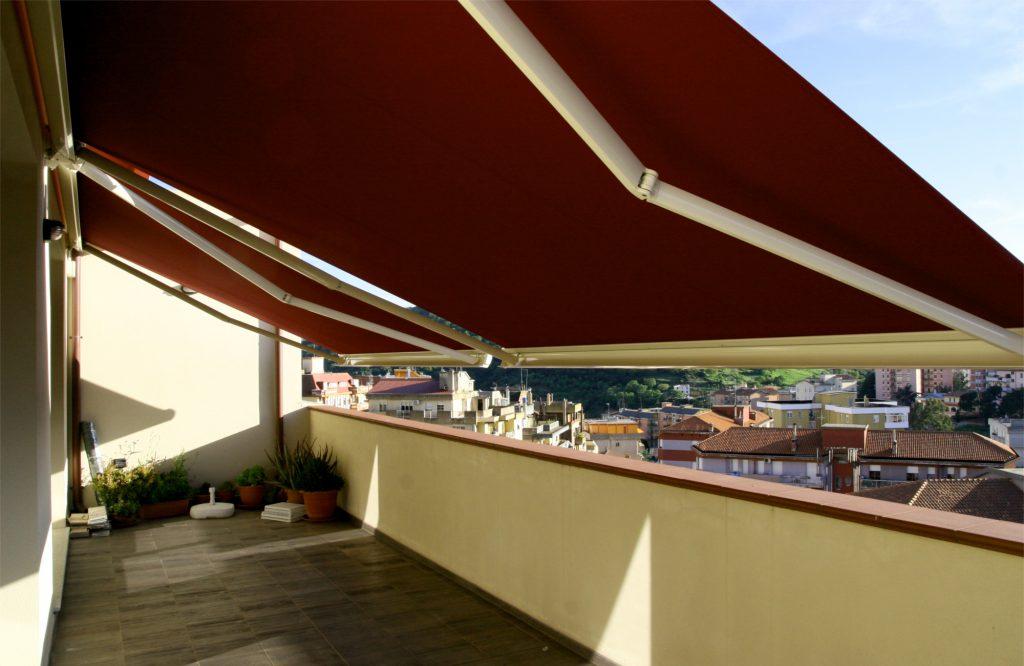 tende per esterno - tendone solare aperto sardegna